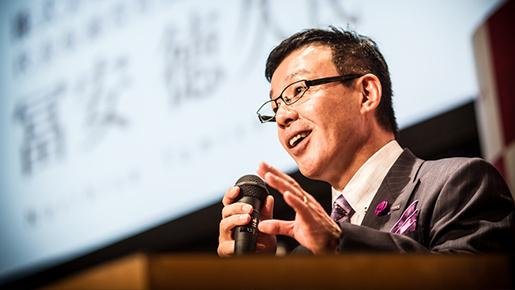 株式会社ティア代表取締役 冨安徳久様「最期の、ありがとう。」出版記念講演会